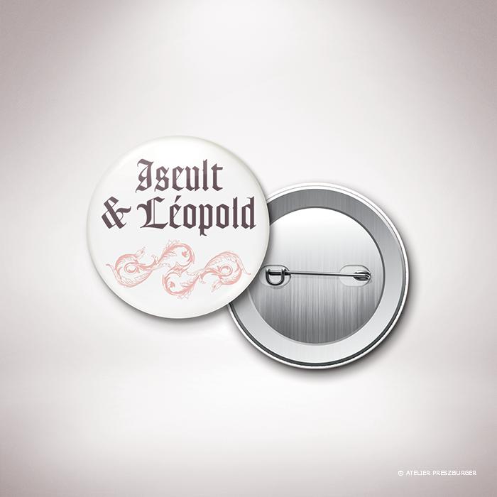 Boério – Badge de mariage par Julien Preszburger – Photo non contractuelle