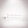 Aumale – Marque place de mariage dans un style contemporain sur le thème de l'amour passionné, illustré d'un cœur transpercé d'une dague par Julien Preszburger – Photo non contractuelle