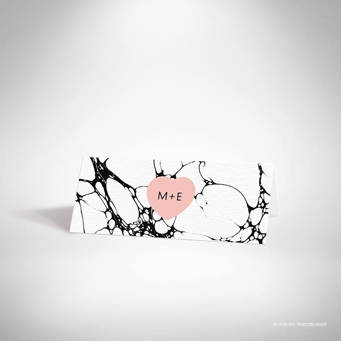 Carrare – Marque place de mariage contemporain de style abstrait par Julien Preszburger – Photo non contractuelle