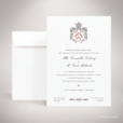 Lestorey – Faire-part de mariage classique royal par Julien Preszburger – Photo non contractuelle