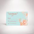 Quelen – Carton réponse de mariage de style floral, illustré d'un bouquet de fleurs par Julien Preszburger – Photo non contractuelle