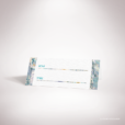 Lyrot – Marque place de mariage contemporain de style abstrait, décoré d'un motif de papier marbré par Julien Preszburger – Photo non contractuelle